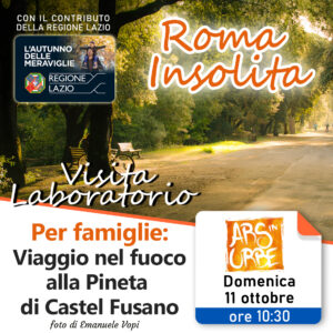 roma insolita, roma, visita guidata, incendio, castel fusano