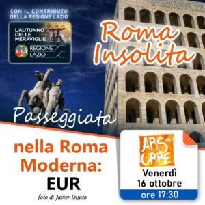 roma, roma insolita, visita guidata, eur, roma moderna