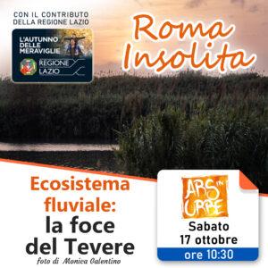roma, roma insolita, visita guidata, foce, tevere, natura