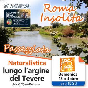 roma, roma insolita, visita guidata,tevere, natura, borgo,
